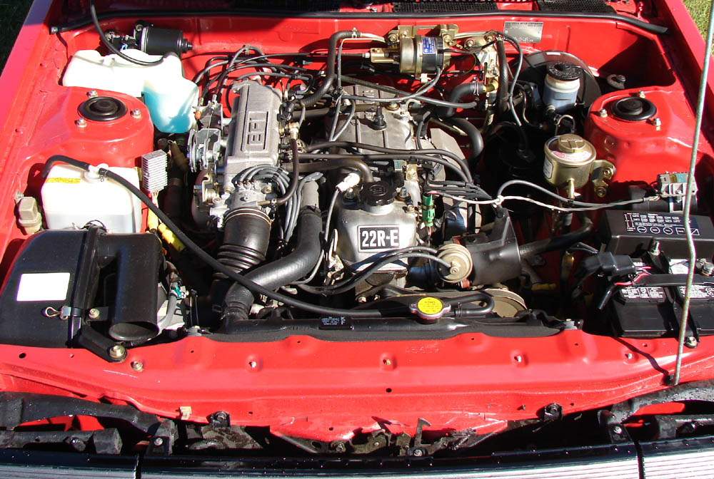 1984 Celica engine frt 84' celica engine in my 85' 4runner yotatech forums 1998 toyota 4runner engine wiring harness at bayanpartner.co