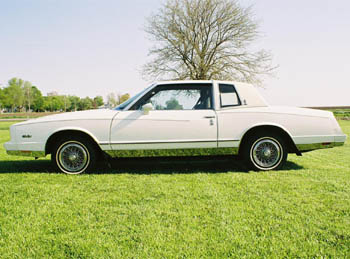1984 Chevy Monte Carlo for sale