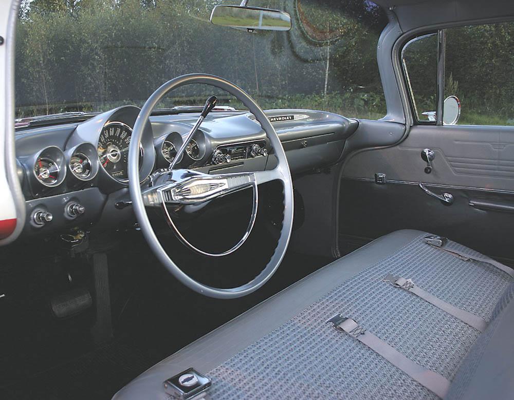 Original 1959 El Camino Interior Chevy Message Forum Restoration