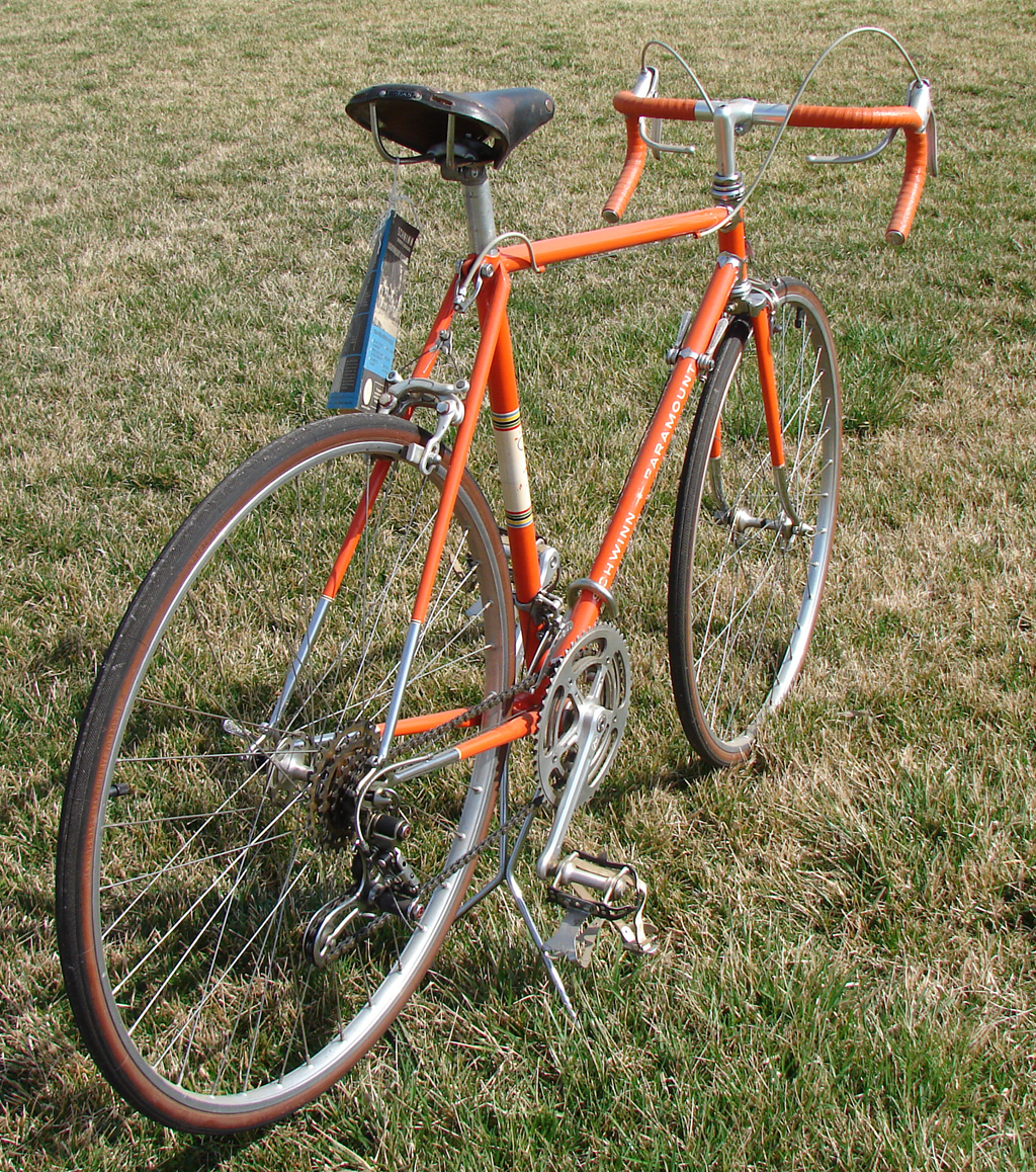 Jim s collection of vintage schwinn paramount bicycles