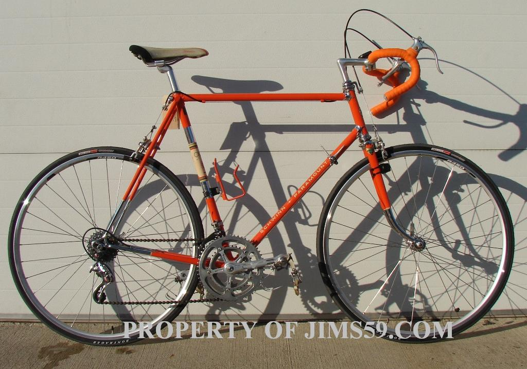 Jim's Collection of Vintage Schwinn Paramount bicycles