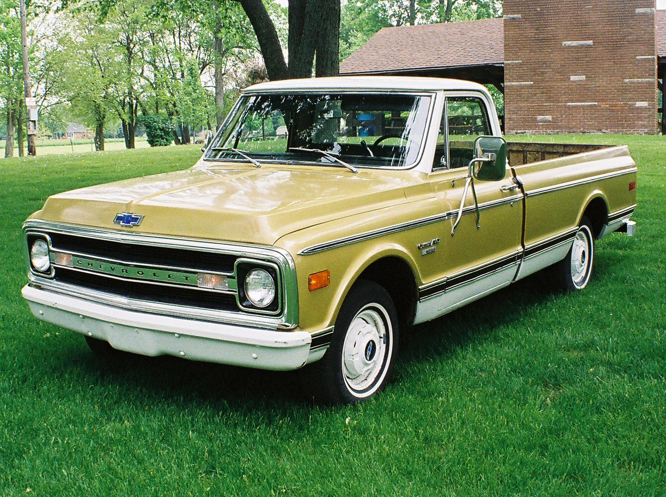A 1970 Chevy C10 that Went From High School Ride to ...